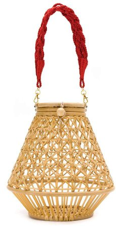 Serpui straw bag