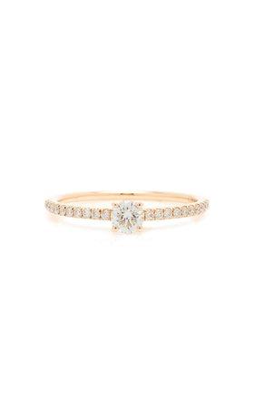 Anita Ko Me/You Round Diamond 18K Gold Ring