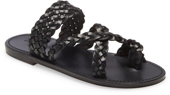 Neil Braided Toe Loop Sandal