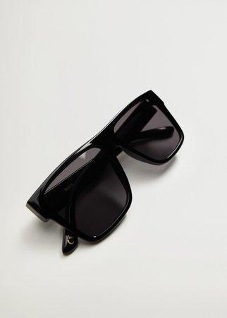Squared frame sunglasses - Woman | Mango Ukraine