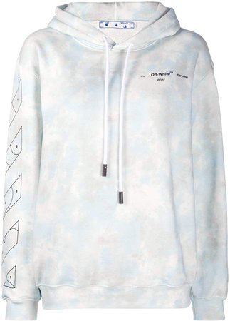 Off White tie-dye relaxed-fit hoodie