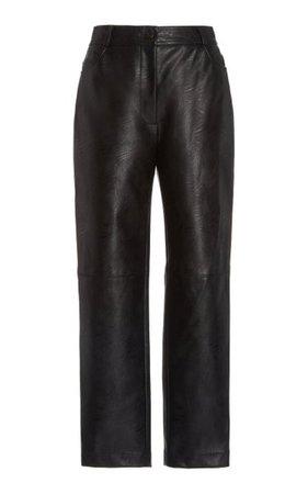 Hailey Vegan Leather Skinny Pants By Stella Mccartney   Moda Operandi