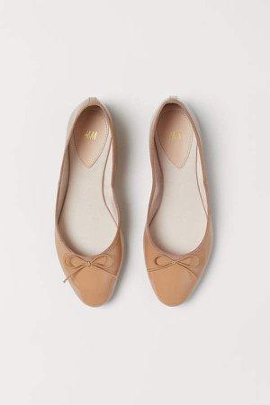 Ballet Flats - Beige