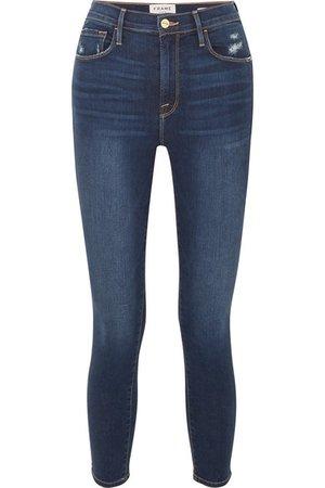 FRAME | Ali high-rise skinny jeans | NET-A-PORTER.COM