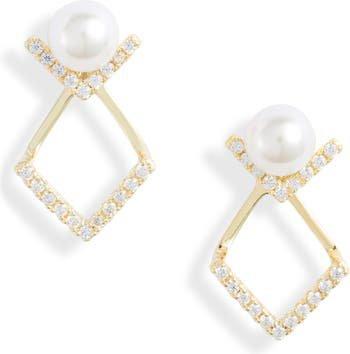 Knotty Stud Drop Earrings | Nordstrom