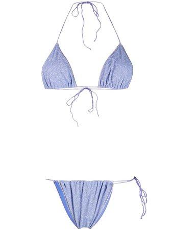 Oséree triangle tie bikini - FARFETCH