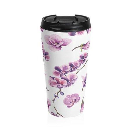 ORCHIDS Purple Lavender Floral Mug Multiple Sizes Woman Women | Etsy