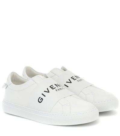 Givenchy - Urban Street leather sneakers | Mytheresa