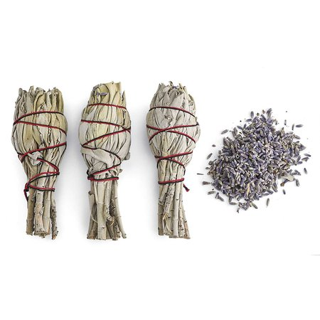 Sage & Lavender Wands Set of 3 - Women's Romantic & Fantasy Inspired Fashions
