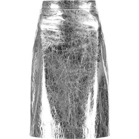 dkny skirt silver - Google Search