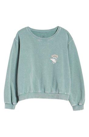Rip Curl Shark Logo Sweatshirt | Nordstrom