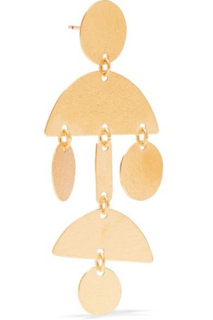 Gold Dangling Earring