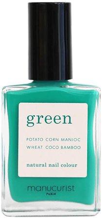 Green Nail Lacquer - Green Garden