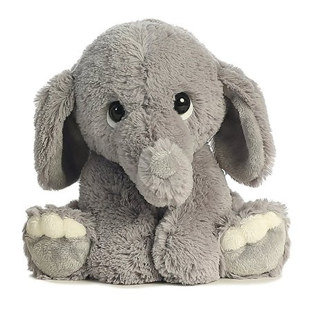 Amazon.com: Aurora World Lil Benny Phant, Grey Plush: Toys & Games