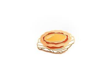 Pancake Enamel Pin