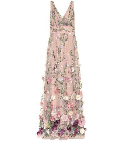 Marchesa Notte - Embellished gown | Mytheresa