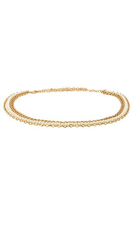 Lovers + Friends Bette Belt in Gold & Pearls | REVOLVE