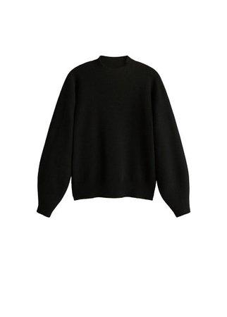 MANGO High collar sweater