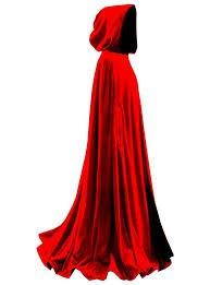 cloak red
