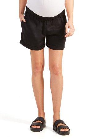 Under Belly Elastic Waist Shorts