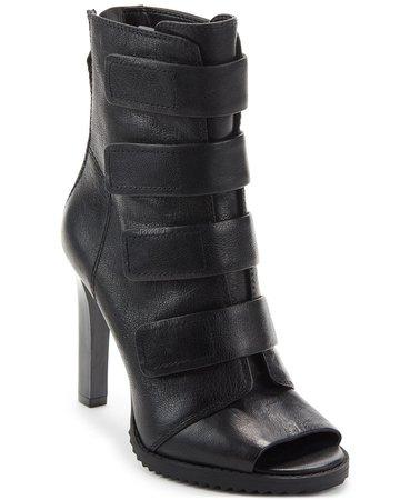DKNY Blake Peep-Toe Booties & Reviews - Boots - Shoes - Macy's