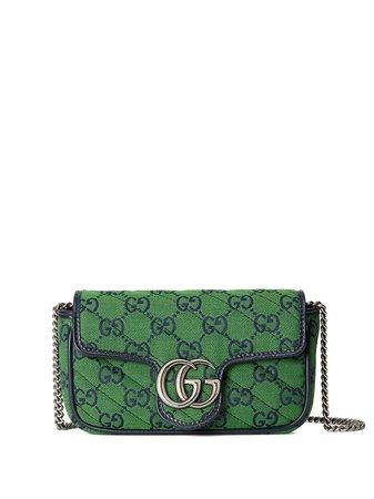 Gucci GG Marmont Multicolour Liten Väska - Farfetch