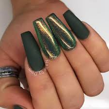 green nails - Google Search