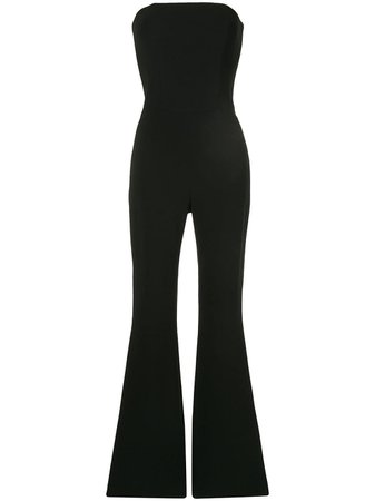 Isabel Sanchis Stretch Skinny Flare Jumpsuit | Farfetch.com