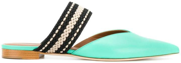pointed strap sandals