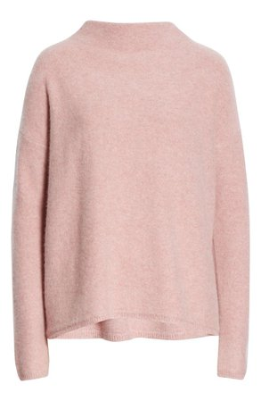 Vince Funnel Neck Boiled Cashmere Sweater | Nordstrom