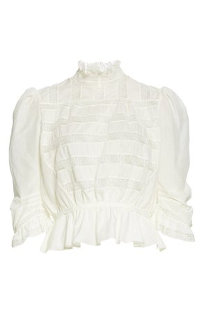 MARC JACOBS The Victorian Peplum Blouse   Nordstrom