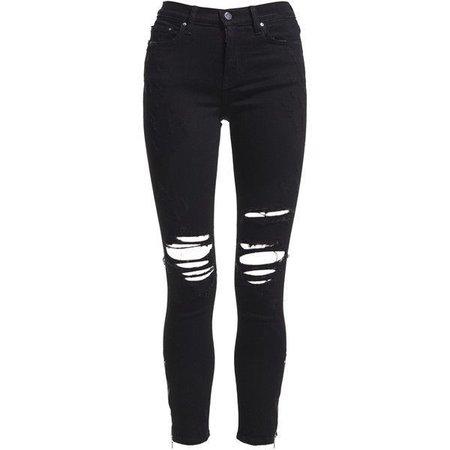 black jeans polyvore - Pesquisa Google