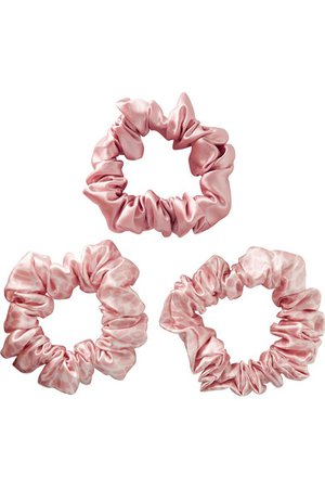 Slip | Set of three large silk hair ties | NET-A-PORTER.COM