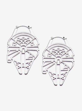 Star Wars Millennium Falcon Hanger Earrings