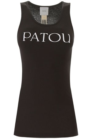 Patou Tank Top With Logo Print