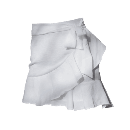 white skirt png