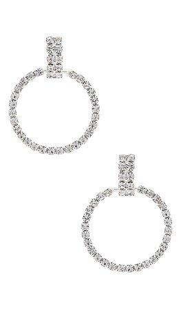 Frasier Sterling LA Nights Earrings in Silver | REVOLVE