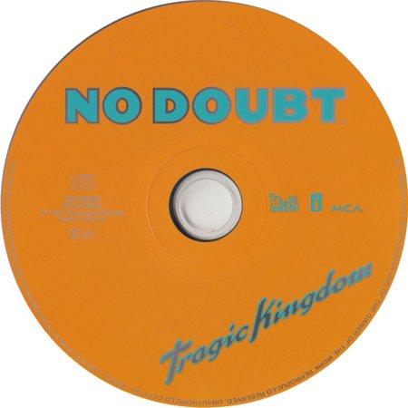 No Doubt Tragic Kingdom CD