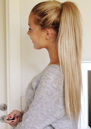 Blonde Ponytail #1