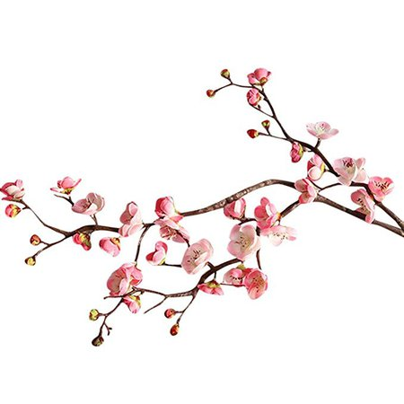 Amazon.com: CYCTECH® Artificial Silk Cherry Blossom Branches Flowers Stems Fake Flower Arrangements for Home Wedding Decoration (Pink): Home & Kitchen