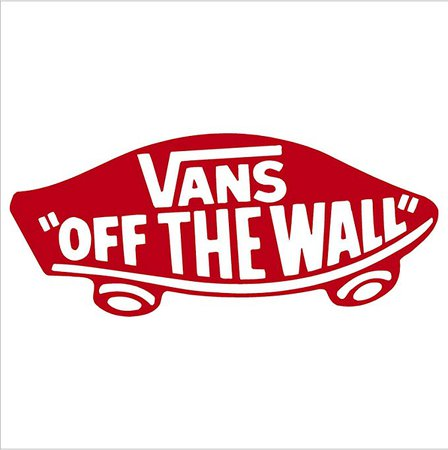 "Amazon.com: Vans Off The Wall Snowboard Bumper Sticker Decal (6"", Red): Automotive"