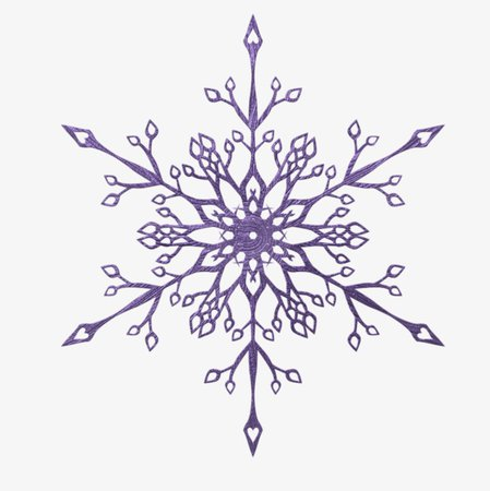 Purple Snowflake Pattern, Snowflake Clipart, Purple, Snowflake PNG Image and Clipart for Free Download