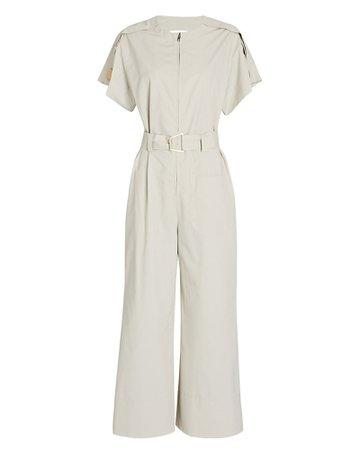 3.1 Phillip Lim Short Sleeve Cut-Out Jumpsuit | INTERMIX®