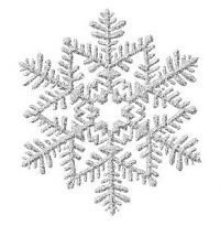 Silver snowflake clipart - Clip Art Library
