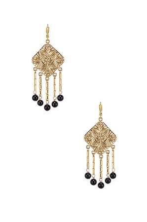 Baroque Coin Earrings