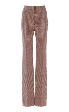 Wool-Blend Tweed Straight-Leg Pants by Victoria Beckham | Moda Operandi