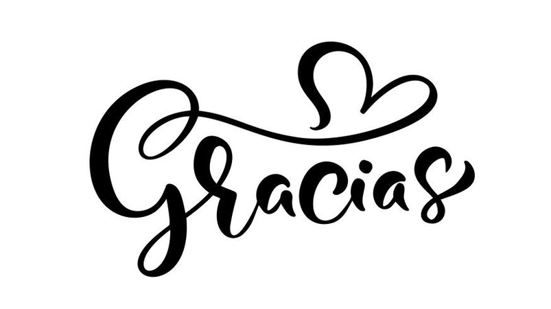 """Gracias"" (""Thank You"" in Spanish) or Art"