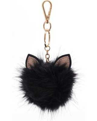 pom pom keychain cat ears - Buscar con Google