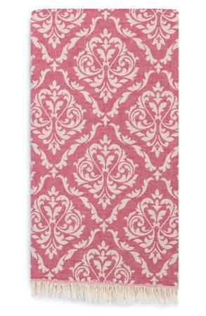 Linum Home Textiles Damask Delight Turkish Pestemal Towel   Nordstrom