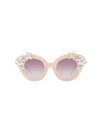 Madison Floral Sunglasses   Alice + Olivia